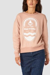 Kings of Indigo - Sweatshirt Idalika Nude VEGAN - Kings Of Indigo
