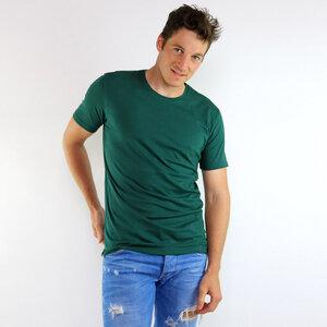 Basic Shirt Grün aus Biobaumwolle - Gary Mash