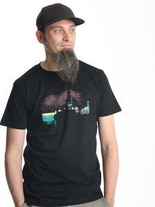 Schlepper bei Nacht Boy-Shirt Boy-T-Shirt - T-Shirtladen-Marktstrasse GmbH