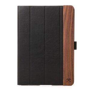 EcoFlip iPad Case Schutzhülle, natürlicher Lederlook - Woodcessories