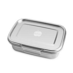 """Dichte Lunchbox """"BUDDY"""" aus Edelstahl, 1.260ml - Brotzeit"""