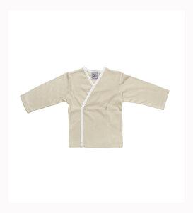 Langärmliges T-Shirt mit Engel Stickerei- Biologischer Pima Baumwolle - B.e Quality