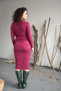 Kleid Primrose (3 farben) - Black, Jam, Pine - KOKOworld