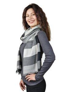 Premium Baby Alpaka Schal Felizia für Damen One Size - AlpacaOne