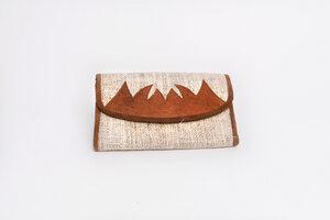 HH Geldtasche - Clutch aus wildem Hanf - Himal Hemp