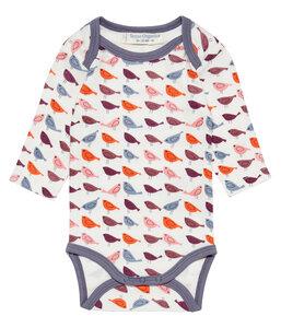 Babybody *Yvon Birds* | Bio GOTS zertifiziert | Sense Organics - sense-organics