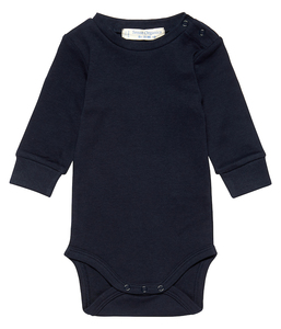 Baby Body Milan langarm unisex navy | GOTS zertifiziert Sense Organics - sense-organics