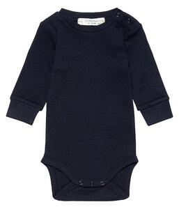 Baby Body Milan langarm unisex navy   GOTS zertifiziert Sense Organics - sense-organics