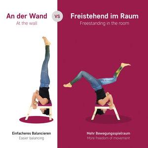 Yoga Kopfstandhocker - Asanas Fitness und Entspannung - SIYA