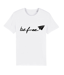 be free - Unisex Logo-Shirt  - basics - DENK.MAL Clothing