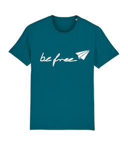 be free - Unisex Logo-Shirt  - colors - DENK.MAL Clothing
