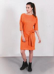 Super schones Kleid aus Sweatshirtstoffabfällen - The Driftwood Tales