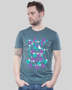 "Shirt Men ""Triangle"" - SILBERFISCHER"