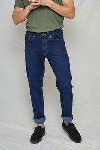 Jeans Straight Fit - Scott - Classic Blue - Kuyichi