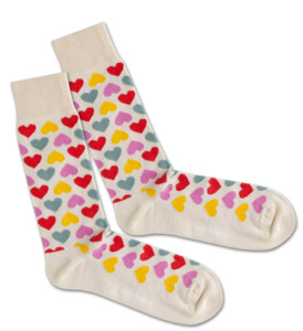 One Size Socken - Color of Love - Dilly Socks