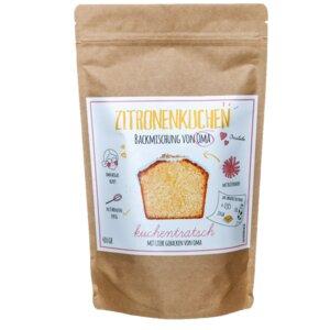 Zitronenkuchen-Backmischung von Oma  - Kuchentratsch UG