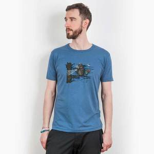 Robert Richter – Movie Time - Mens Fair Share Organic Cotton T‑Shirt - Nikkifaktur