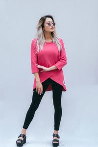Umstands- und Stillpulli: Sweater Baseline in very berry - stillfashion
