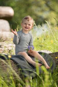 Baby Body langarm Wolle Seide hellgrau | GOTS zertifiziert Engel Natur - Engel natur
