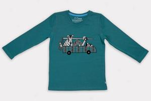 Safarirama Langarm-Shirt - Cooee Kids