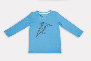Kingsley Kingfisher Langarm-Shirt - Cooee Kids
