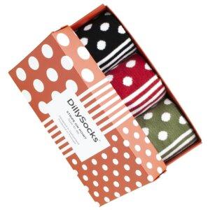 Unisex Socken 3er Pack - Stripe on Point - Dilly Socks