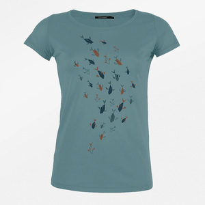 T-Shirt Loves Animal Fish Family - GreenBomb