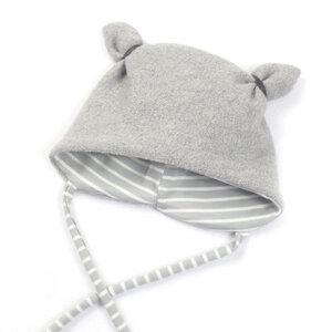 Wollwalk Mütze Merinowolle aus BioBaumwolle - Sternchenwolke