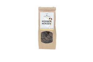 Getrocknete Hühnerherzen für Hunde, 250g - naftie