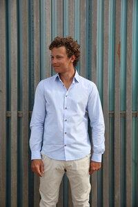 Nachhaltige Langarm Herren Hemd Vintage Fun Slim Fit Bio Baumwolle - SKOT Fashion