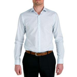 Nachhaltige Langarm Herren Hemd Serious Rain Slim Fit  - SKOT Fashion