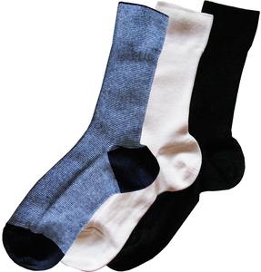 Coole Socken - Dreierpack in Größe 35-37 - ingegerd