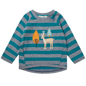 Baby Sweatshirt Hirsch im Wald - Sense Organics & friends in cooperation with GARY MASH