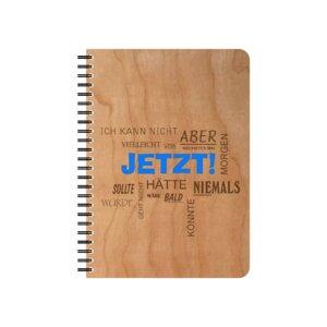 Ausreden Schreib und Notizblock - echtholz