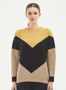 Pullover aus Bio-Merinowolle und Bio-Baumwolle - ORGANICATION