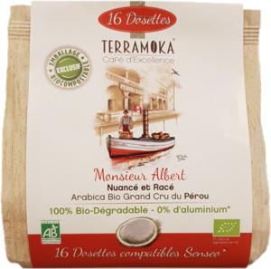 Terramoka Albert – 16 Bio-Pads - Terramoka