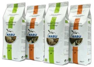 Gourmet-Kaffee Probierpaket, 1kg - NABU