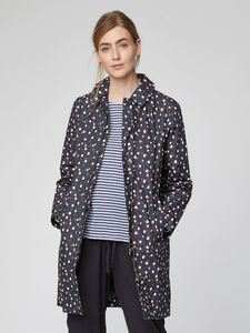 Polka Organic Cotton Waterproof Coat - Thought