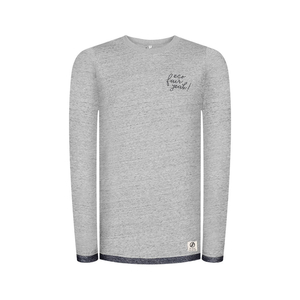 Eco Fair Yeah Sweater Lyocell (TENCEL) Grey - bleed clothing GmbH