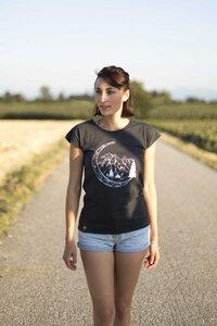 """Bio T-Shirt """"Lea Moon arsenic""""  - Zerum"""