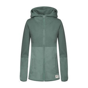 New Lines Zip- Hoody Ladies Green - bleed clothing GmbH