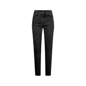 Max Flex Jeans Lyocell (TENCEL) Ladies Black Washed - bleed