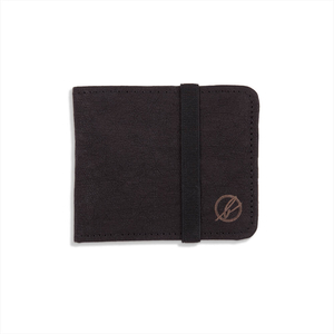 Jacroki® Paper Mini Wallet Black - bleed