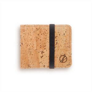 Cork Mini Geldbeutel Naturkork - bleed