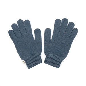 Knitted Eco Gloves Navy - bleed clothing GmbH