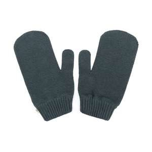 Knitted Eco Mittens Dark Grey - bleed clothing GmbH