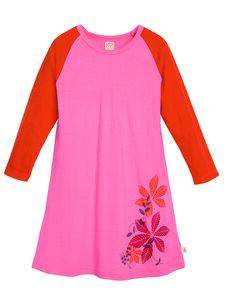 Living Crafts Nachthemd himbeerfarben 100% Baumwolle( bio) 110/116  - Living Crafts