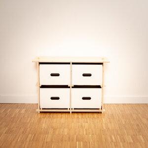 Twobytwo (2x2) - Beistelltisch - 16boxes