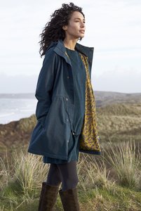 Organic Cotton Raincoat - Fir - Nomads Fair Trade Fashion