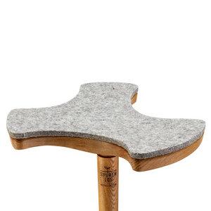 Dreiblatt Sitzauflage - Spurenlos Möbeldesign